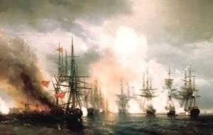 Ivan Aivazovsky - Battle near Sinop (during daylight hours version)
