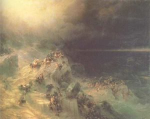 Ivan Aivazovsky - Great Flood