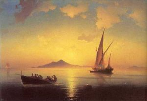 Ivan Aivazovsky - The Bay of Naples
