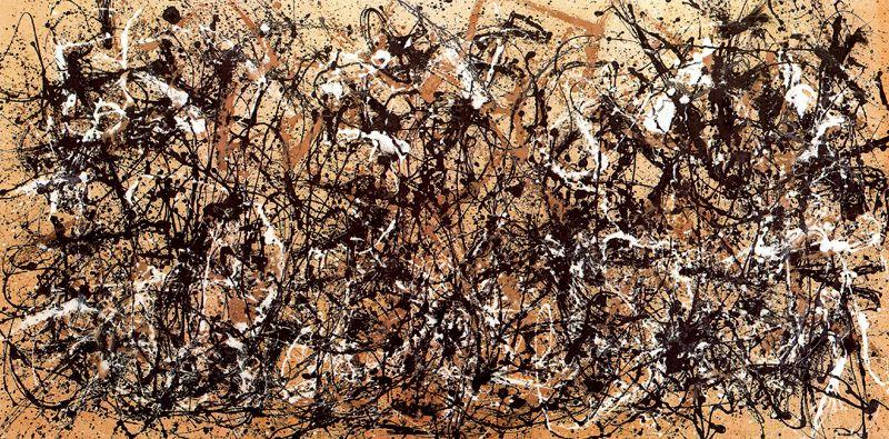 Autumn Rhythm. Number 30, 1950, Oil by Jackson Pollock (1912-1956, United States)