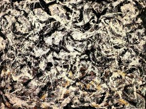 Jackson Pollock - Grayed Rainbow