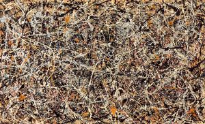 Jackson Pollock - Number 1, 1949 - (oil painting reproductions)