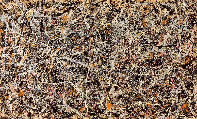 Number 1, 1949, 1950 by Jackson Pollock (1912-1956, United States) |  | WahooArt.com