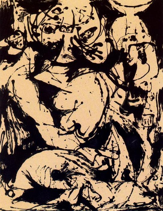 Number 22 1951 oil by jackson pollock 1912 1956 united for Jackson pollock coloring page