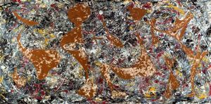 Jackson Pollock - Out of the Web. Number 7