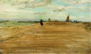 James Abbott Mcneill Whistler - Beach Scene 1