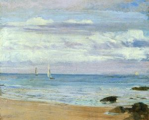 James Abbott Mcneill Whistler - Blue and Silver. Trouville