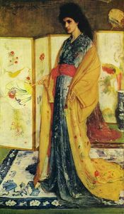 James Abbott Mcneill Whistler - La Princesse du pays de la porcelaine