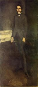 James Abbott Mcneill Whistler - Portrait of George W. Vanderbilt