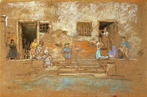 James Abbott Mcneill Whistler - The Steps