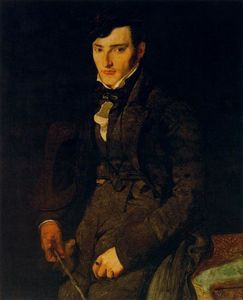 Jean Auguste Dominique Ingres - Portrait of Jean-François Gilibert