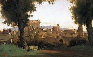 Jean Baptiste Camille Corot - View in the Farnese Gardens