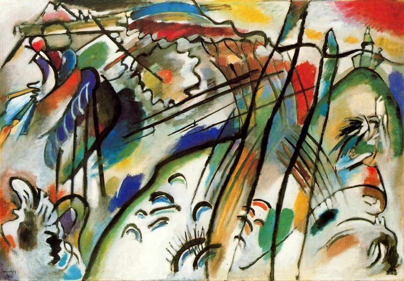 Improvisation 28 Second Version By Wassily Kandinsky 1866 1944