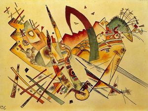 Wassily Kandinsky - Small Dream in Red Kleiner Traum in Rot