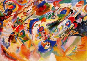 Wassily Kandinsky - Study for Composition VII
