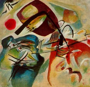 Wassily Kandinsky - Table with black bow