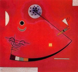 Wassily Kandinsky - Tension in the corner