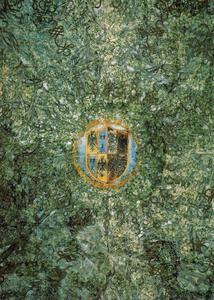 Coat of arms of the Sforza family, Oil by Leonardo Da Vinci  (order Fine Art oil painting Leonardo Da Vinci)