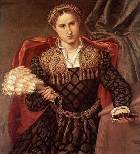 Lorenzo Lotto - Portrait of Laura da Pola