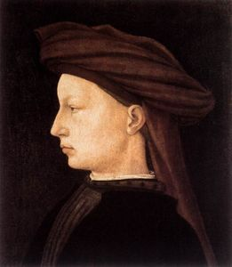 Masaccio (Ser Giovanni, Mone Cassai) - Profile Portrait of a Young Man