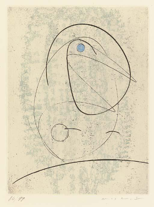 L`Oiseau bleu by Max Ernst (1891-1976, Germany) | Oil Painting | WahooArt.com