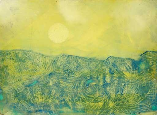 Paysage jaune by Max Ernst (1891-1976, Germany) | WahooArt.com