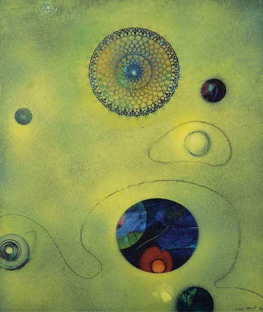 Un caprice de Vénus, Oil by Max Ernst (1891-1976, Germany)