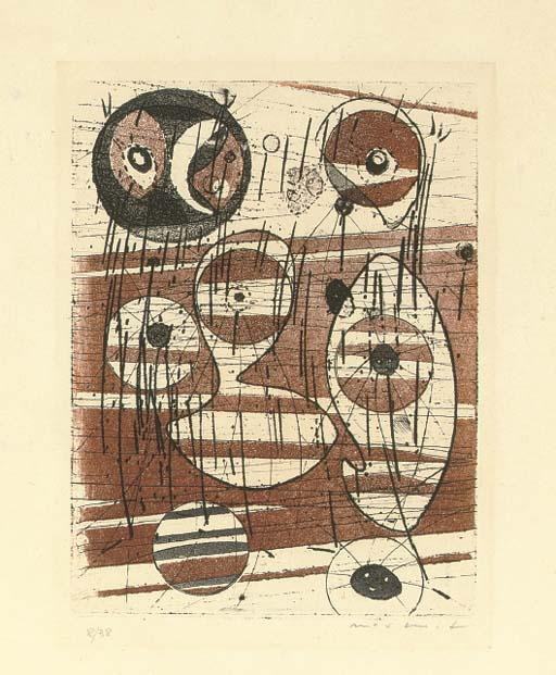 Untitled 5 by Max Ernst (1891-1976, Germany) | WahooArt.com