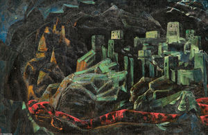 Nicholas Roerich - The Dead City