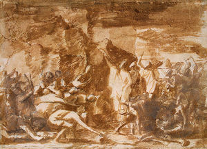 Nicolas Poussin - Moses Striking the Rock