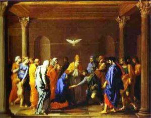 Nicolas Poussin - The Marriage of the Virgin