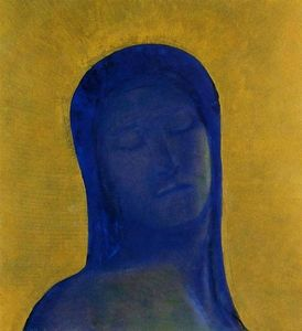 Odilon Redon - Closed Eyes 1