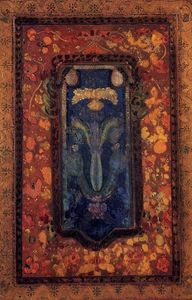 Odilon Redon - Design for a Prayer Rug