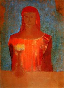 Odilon Redon - Lady Macbeth