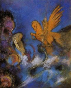 Odilon Redon - Roger And Angelica 2