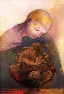Odilon Redon - The Chalice Of Becoming