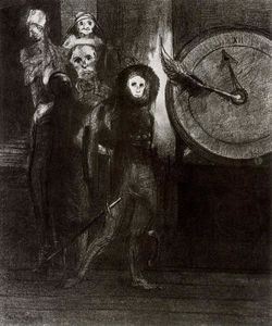 Odilon Redon - The Masque of the Red Death