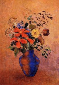 Odilon Redon - Vase Of Flowers 6