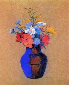 Odilon Redon - Wild Flowers in a Vase