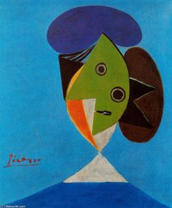 Pablo Picasso - Bust of a woman 5