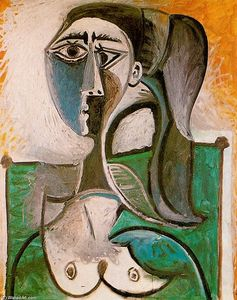 Pablo Picasso - Bust of a woman 7