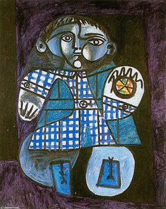 Pablo Picasso - Claude with a ball