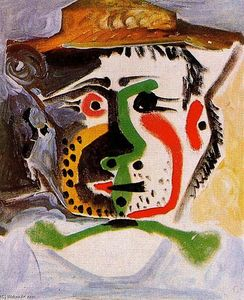 Pablo Picasso - Head of a man 16