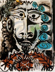Pablo Picasso - Head of a man 5