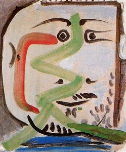 Pablo Picasso - Head of a man 9
