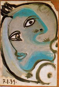 Pablo Picasso - Head of a woman 5