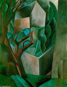 Pablo Picasso - House in a Garden 1