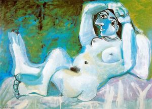 Pablo Picasso - Large nude