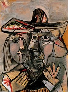 Pablo Picasso - Man and woman 1