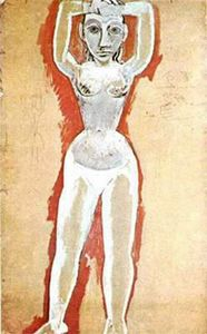 Pablo Picasso - Nude of a woman